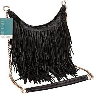 Women's Fashion Fringed Shoulder Bag Tassel